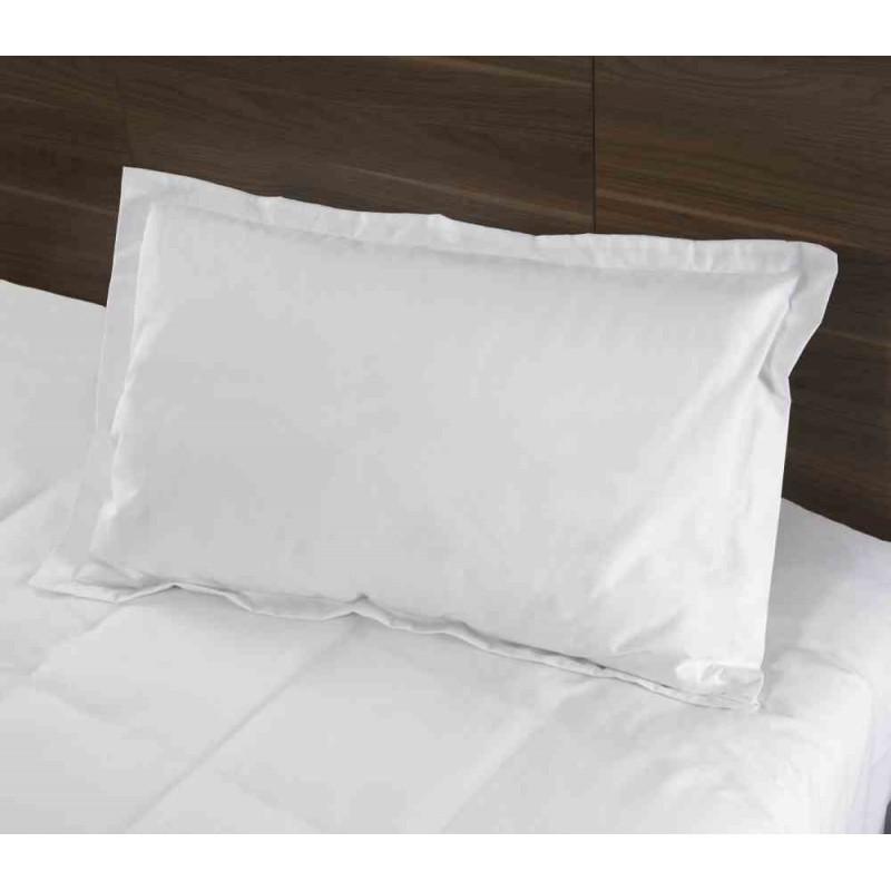 taie d 39 oreiller volant piqu sac portefeuille i care 50 coton 50 polyester 50x75cm. Black Bedroom Furniture Sets. Home Design Ideas