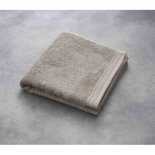 Serviette, Romane, Coloris Taupe, 100% Coton, 500 G/M², 50X100 Cm
