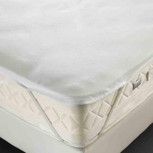 al se molleton blanc forme plateau 4 lastiques 210 g m 140x190 cm. Black Bedroom Furniture Sets. Home Design Ideas