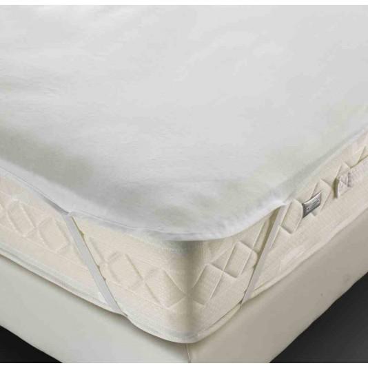 al se molleton polyurethane blanc forme plateau 4 lastiques 210 g m 100x200 cm. Black Bedroom Furniture Sets. Home Design Ideas